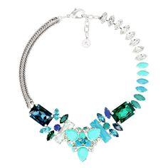 Tour de cou. Short Necklace - 775 $ REMINISCENCE PARIS. Bleu comme le ciel