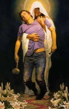 """Forgiven by Thomas Blackshear. """"As far as the east is from the west, so far has he removed our transgressions from us."""" Psalm 103:12"""
