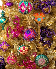Holiday Lane Bohemian Tree Theme - Christmas Tree Themes - Holiday Lane - Macy's