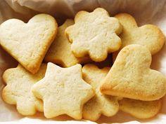 Sour cream cookies.