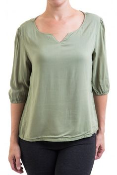 Type 2 One Sweet Moment Top in Sage - $39.97