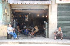 IJzerwerkplaats in Aleppo. Foto: Marco in 't Veldt