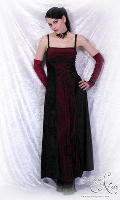 Lacing, the colour combination, plus it's velvet - Weekend Outfits – Sophistique Noir