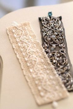 Bead embroidery bracelets