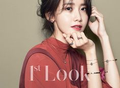 SNSD's YoonA charms fans through 1st Look's December issue