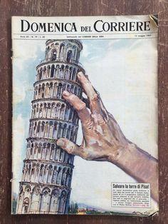 Pisa, Tower, Illustration, Journals, Italia, Rook, Computer Case, Illustrations, Journal Art