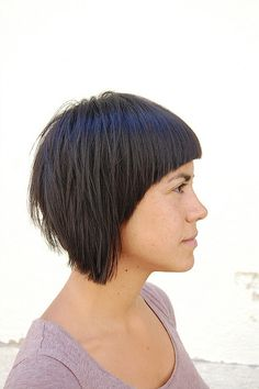 2 sides bob haircut by wip-hairport, via Flickr