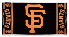 San Francisco Giants Beach Towel
