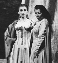 Callas Simionato Norma scala 1955