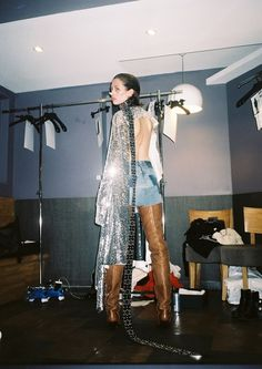 Backstage at VETEMENTS SS16
