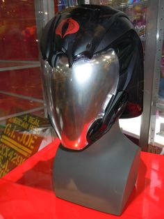 Custom Gi-Joe Cobra Commander Motorcycle Helmet