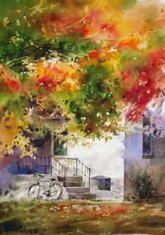 Watercolor Paintings by Lin Ching Che