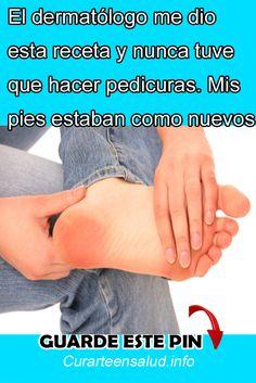 El dermatólogo me dio esta receta y nunca tuve que hacer pedicuras. Mis pies estaban como nuevos #dermatólogo #receta #nunca #hacer #pedicuras #Mispies #estaban #como #nuevos #remedios #belleza