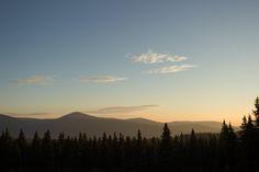 sunrise krkonose mountain