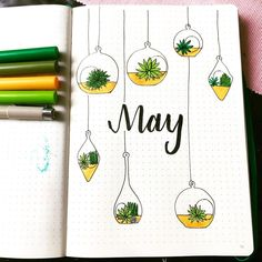 18 Inspiring May Hello Title Pages For Your Bullet Journal 18 Inspiring May Hello Title Pages For Your Bullet Journal Bullet Journal Titles, Bullet Journal Month, Bullet Journal Cover Ideas, Bullet Journal Banner, Bullet Journal Notebook, Bullet Journal Aesthetic, Bullet Journal School, Journal Covers, Bullet Journal Inspiration Creative