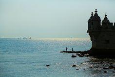 Deux pêcheurs à Belem #Lisbonne #Belem #Travel