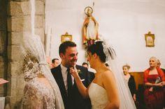 Bea+Héctor, ya convertidos en marido y mujer (Wedding by Presume de Boda)