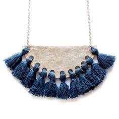 BLUE FRIDA Necklace eldasign