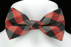 Arkansas Razorbacks Plaid Men/'s Bow Tie Adjustable College University Red Bowtie