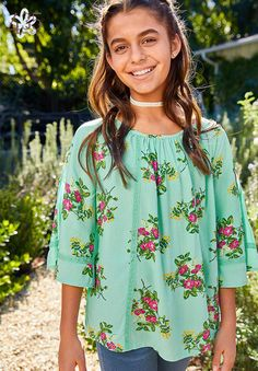 Go With The Flow Top - Matilda Jane Clothing - October 12 2019 at Dress Outfits, Girl Outfits, Dress Up, Cute Outfits, Tween Mode, Tween Fashion, Matilda Jane, Jane Clothing, Flow
