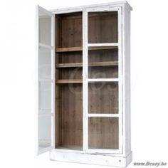 """Lifestyle94-Lifestyle Cotton Wood Cabinet <span style=""""font-size: 6pt;""""> Uitstalkast-Vitrine-Vitrinekast-Glazenkast-Buffetkast-Buffet-vaisselier-cupboard-display-case-closet-glasvitrine-Schauschrank-glasschrank </span>"""