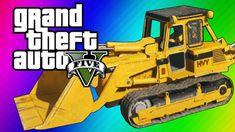 GTA 5 Online: 2 Fun Jobs! - Pool Divers & Vehicle Bouncy Castle! (GTA 5 ...