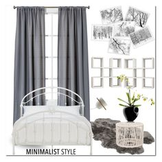 """Minimalist style"" by ilona-828 ❤ liked on Polyvore featuring interior, interiors, interior design, home, home decor, interior decorating, Room Essentials, UGG, Inspire Q and B&B Italia"