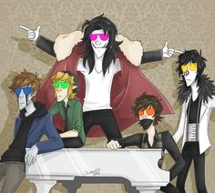A Band To Die For by scaredy--cat on DeviantArt