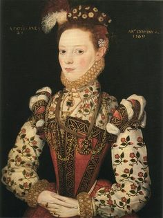 Portrait (probably Lady Helena Snakeborg, Marchioness of Northampton), 1569