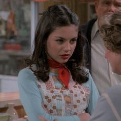 icons/headers of movies, shows and bands, from the - feel free to save and use. Jackie That 70s Show, Pretty People, Beautiful People, Thats 70 Show, 70s Inspired Fashion, 70s Outfits, 70s Hair, 70s Aesthetic, Mila Kunis