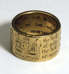 Coventry Ring, gold, 15th-century.