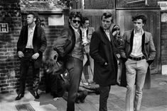 Available for sale from Magnum Photos, Chris Steele Perkins, The Teds 30 × 40 in Teddy Boys, Youth Culture, Skinny Ties, Magnum Photos, Documentary Photography, Old Women, Vintage Prints, Rockabilly, Rock And Roll