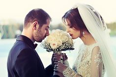 Love looks not with the eyes, but with the mind #wedding #ceremony #USA #bride #groom #couple #bouquet #marriage #love