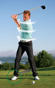 Turn Your Right Foot Out For A More Powerful Back Swing | GolfTipsMag.com