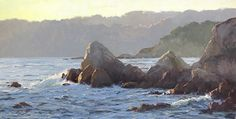 Magic Hour by Kathleen Dunphy Oil ~ 15 x 30