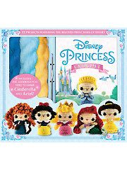 Lovely gift for the crochet fan who loves Disney, too! All In One Disney Princess Crochet Kit with Yarn Crochet Amigurumi, Amigurumi Doll, Amigurumi Patterns, Crochet Dolls, Crochet Kits, C2c Crochet, Crochet Hair, Crochet Stitch, Slip Stitch