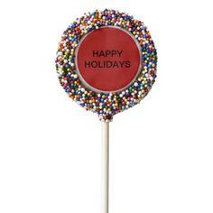 Dipped Oreos holiday pops - holidays diy custom design cyo holiday family