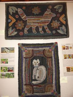 Barb  Carroll  Hooked  Rug    Rugs and Pugs
