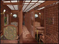 デザイン | JR九州 | JRKYUSHU SWEET TRAIN「或る列車」