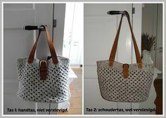 Eind februari haakte ik deze tas na vanaf een foto die ik op Pinterest vond. Ik plaatste een foto van mijn tas op een Facebook haakgroe...