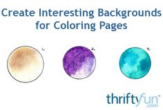 This tip explains how to create a vintage effect, soften colors using Vaseline, and use food colors for colorful backgrounds on your coloring pages. Page Background, Blurred Background, Background Vintage, General Crafts, Food Coloring, Adult Coloring Pages, Painting Techniques, Painting On Wood, Colored Pencils