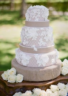 Lace Cake! - 11 Not-So-Innocent Ways to Use Lace at Your Wedding