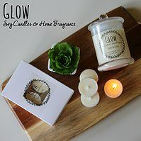 The Bella Collection soy candles by Glow Candles www.glowcandles.net