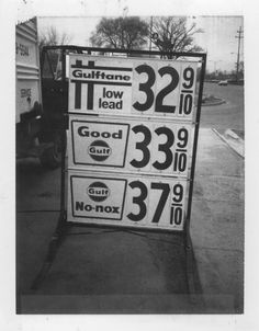 Best Gas Prices >> 33 Best Vintage Gas Prices Images Old Gas Stations Price Signs