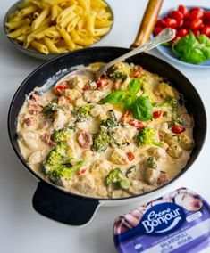 4 lättlagade vardagsrätter med Crème Bonjour - ZEINAS KITCHEN Great Recipes, Dinner Recipes, Healthy Recipes, 300 Calorie Lunches, Zeina, Mo S, Everyday Food, Easy Cooking, Food Inspiration
