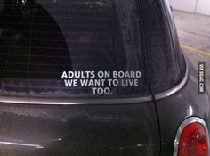 No babies on board.  Go ahead and give it your best shot.