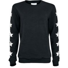LA Sisters Star Sweater Zwart