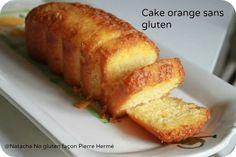 Cake à l'orange sans gluten