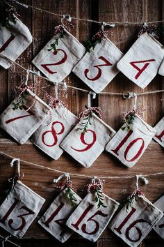 Add fun and treats to your countdown to Christmas with homemade advent calendar bags. Simple to make and gift, fill these bags with treats for the holiday. Nativity Advent Calendar, Make An Advent Calendar, Homemade Advent Calendars, Christmas Tree Advent Calendar, Advent Calenders, Diy Calendar, Christmas Countdown, Christmas Gifts For Boys, Christmas Crafts