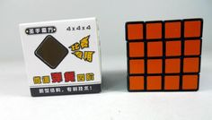 shengshou 4x4 Magic Cube 4x4x4 High Speed cube  Puzzle Sticker Toys Blcak